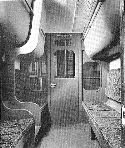 Interior of DD Train